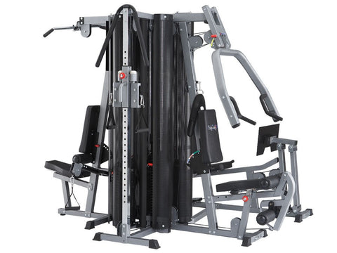 BodyCraft X4 Four Stack System, Cable Column & Leg Press included - PACESETTER FITNESS