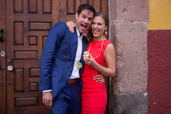 Hailey and Mauricio, the Adventure Travel Couple, in San Miguel De Allende, Mexicio