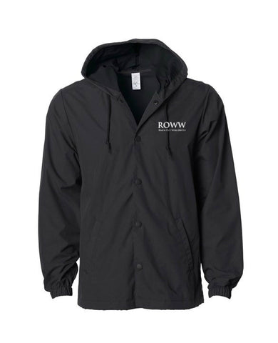 Reach Out WorldWide Hooded Windbreaker