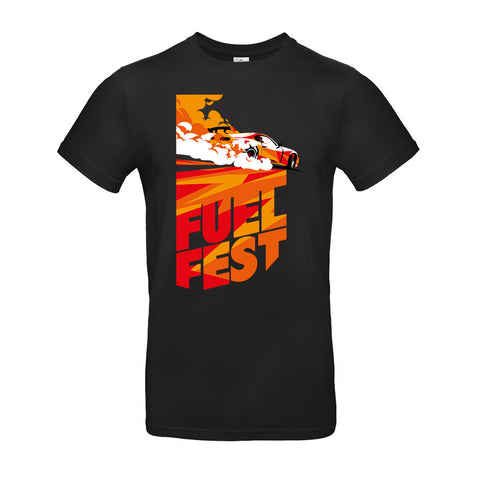 Youth FuelFest BurnOut Tee - Black