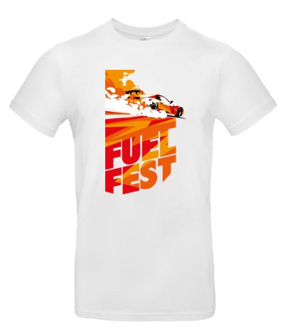 FuelFest BurnOut Tee - White