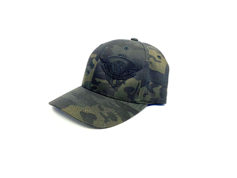 MultiCam Logo Flex Fit - Black