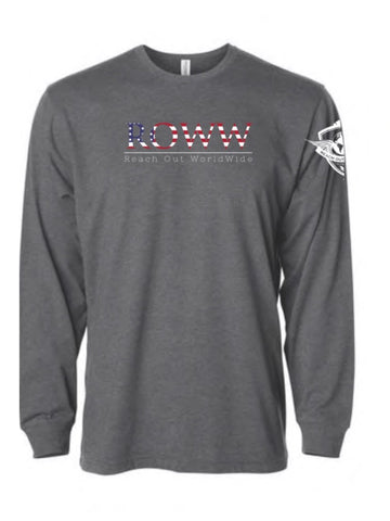 Patriot Banner LS Tee