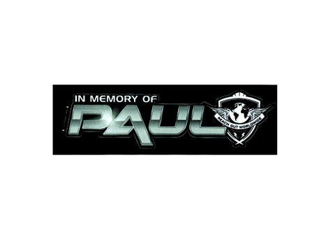 In Memory of Paul Decal - SM