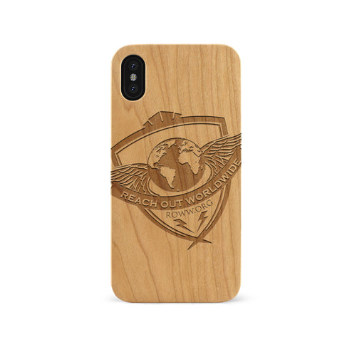 Logo Engraved Cherry Phone Case
