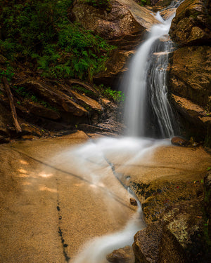 Waterfall on the Falling Waters Trail - White Mountains, New Hampshire