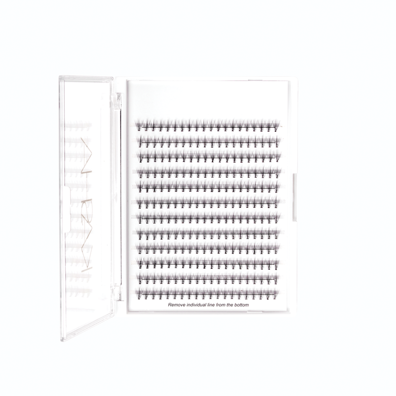 INDIVIDUAL SILK EYELASHES PRO PACK- 8MM SHORT