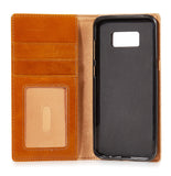 iPulse Journal Series Full Grain Leather Handmade Case For Samsung Galaxy S8