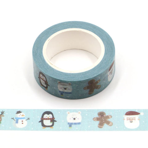 Santa and Friends Washi Tape