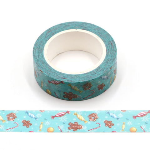 Gingerbread Treats Washi Tape