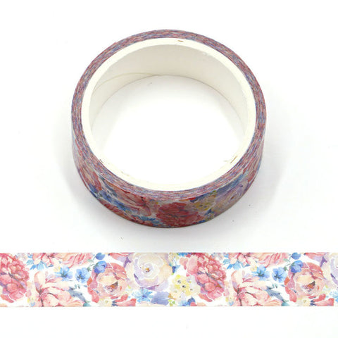 Watercolor Roses (2020) Washi Tape
