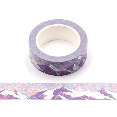 Silver Mountains Washi Tape