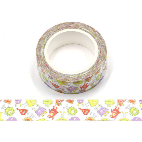 Fun Monsters Washi Tape