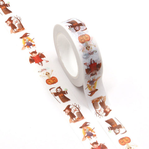 Spooky People Washi Tape