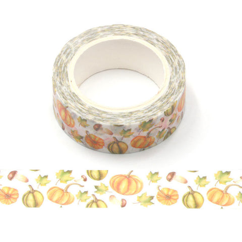 Fall Pumpkins Washi Tape
