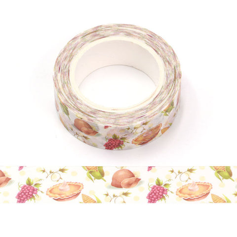 Thanksgiving Dinner Washi Tape