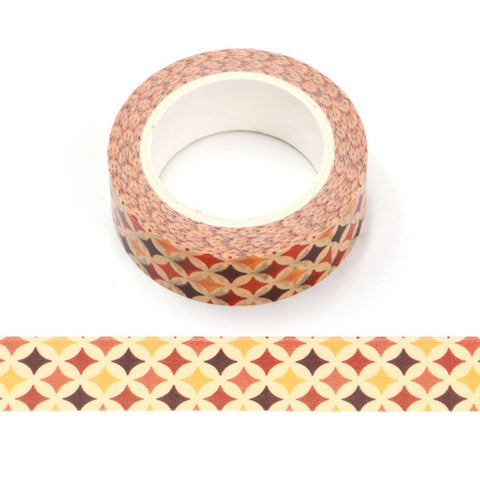 Fall Diamonds Washi Tape