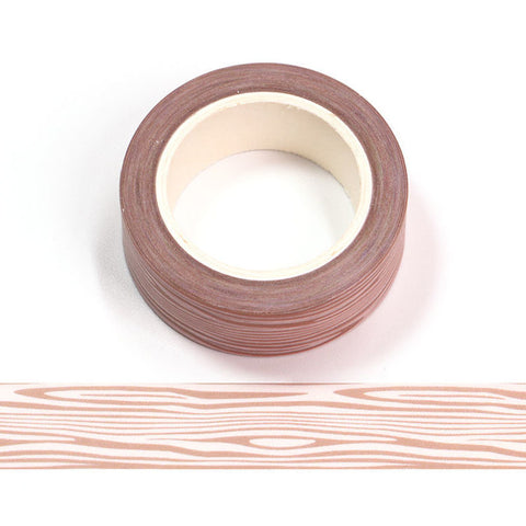 Wood Grain Washi Tape