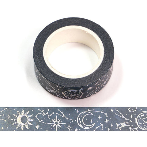 Foil Constellations Washi Tape