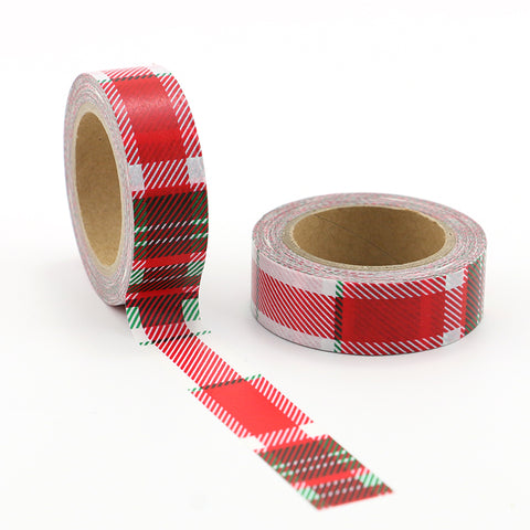 Rad Plaid Washi Tape