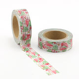 Flamingos and Stripes Washi Tape