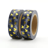 Dark and Stormy Hearts Washi Tape