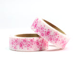 Pink Flowers Washi Tape