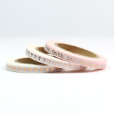 Faith Skinny Washi Tape Set of Three