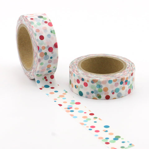 Colorful Polka Dots Washi Tape