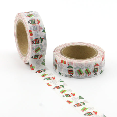 Nutcracker and Presents Washi Tape