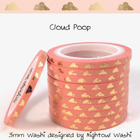 Whoops Washi - Cloud Poop