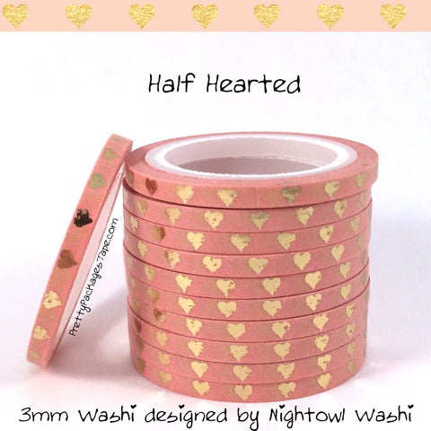 Whoops Washi - Half Hearted