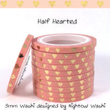3mm Super Skinny Foil Washi Fails