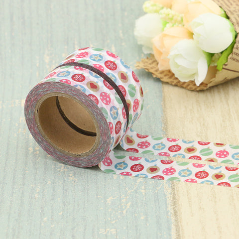 Colorful Ornaments Washi Tape