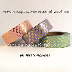 Pretty Packages Custom Washi Tape