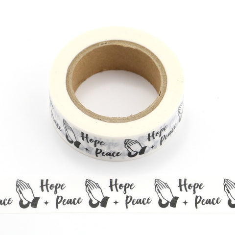 Hope + Peace Washi Tape