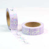 Foiled Fishes Washi Tape