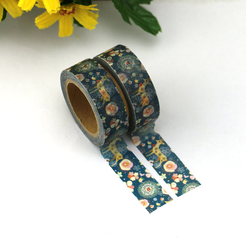 Decorative Deer Washi Tape