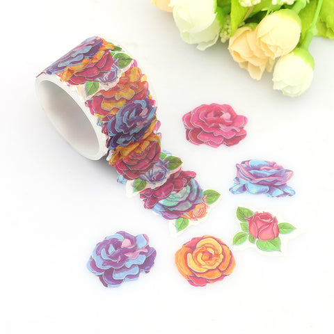 Beautiful Roses Washi Stickers