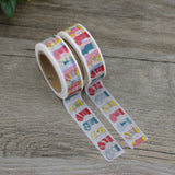 Stockings All In A Row Washi Tape