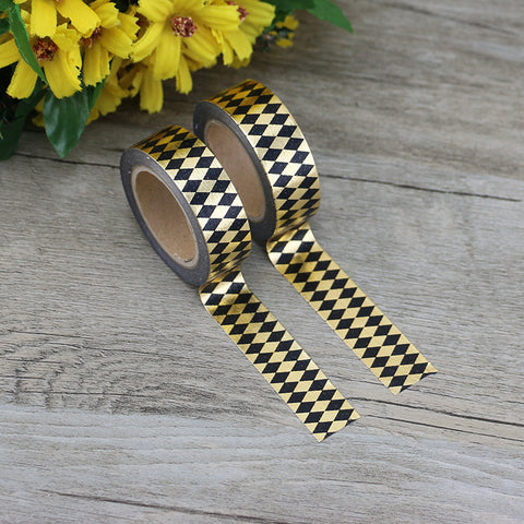 Gold Diamond Washi Tape