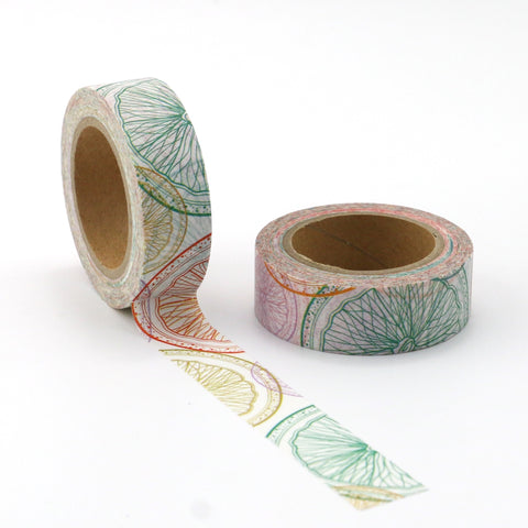 Splashes of Citrus Washi Tape