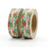 Stripes and Roses Washi Tape