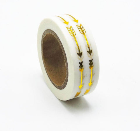 Gold Arrows Washi Tape