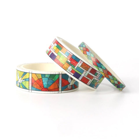 Stained Glass Washi Tape Set of Three