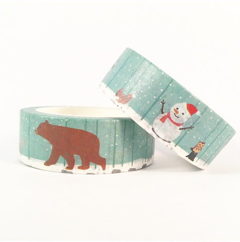 Winter Friends Washi Tape