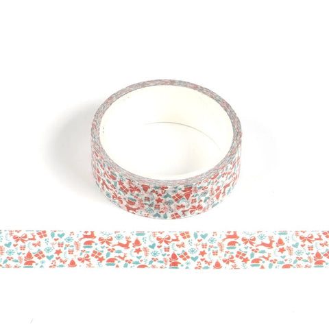 Tiny Christmas Washi Tape