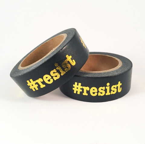 #resist Foil Washi Tape