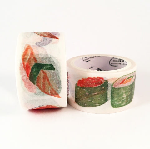 Super Sushi Wide Washi Tape