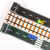 Black Road Wide Washi Tape